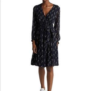 "Ba&sh Black Memory"" Floral Print Dress"